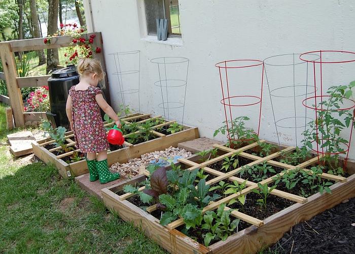 Как своими руками сделать огород красивым своими руками фото 73